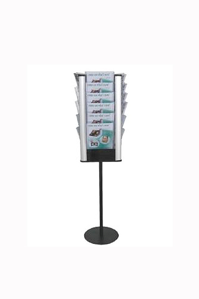 Rotating Floor stand 24 x A4