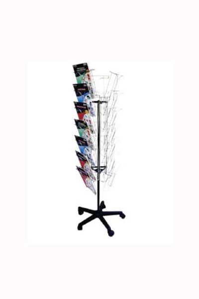 Rotating Floor stand 21 x A4 Holders