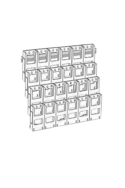 DLE Kit x 24 Holders : 6 Wide x 4 Down