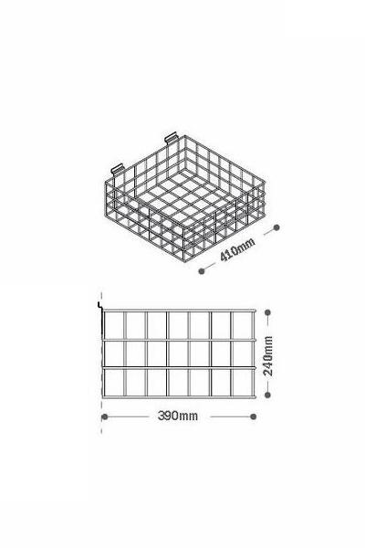 Grid Bin 410 x 390mm