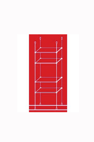 Cable shelve display 4 x 400mm
